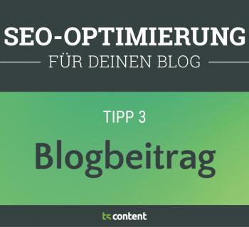 SEO-Optimierter Blogbeitrag