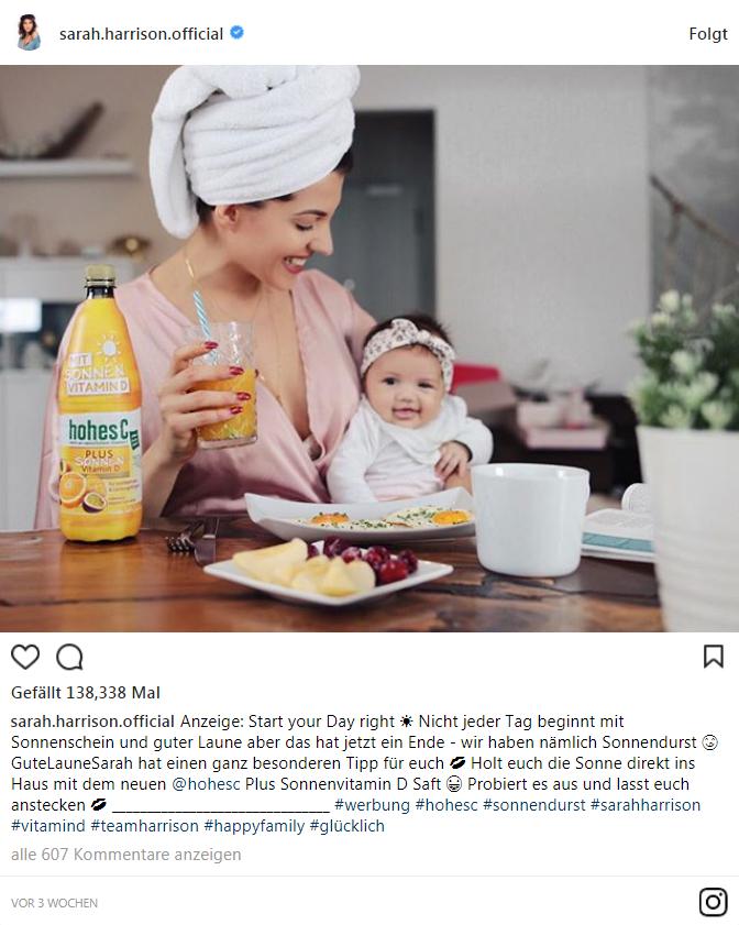 Sarah Harrison Instagram