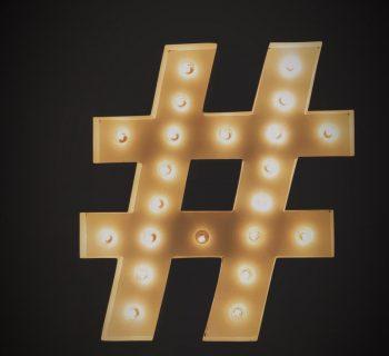 Hashtags auf Instagram im Jahr 2018