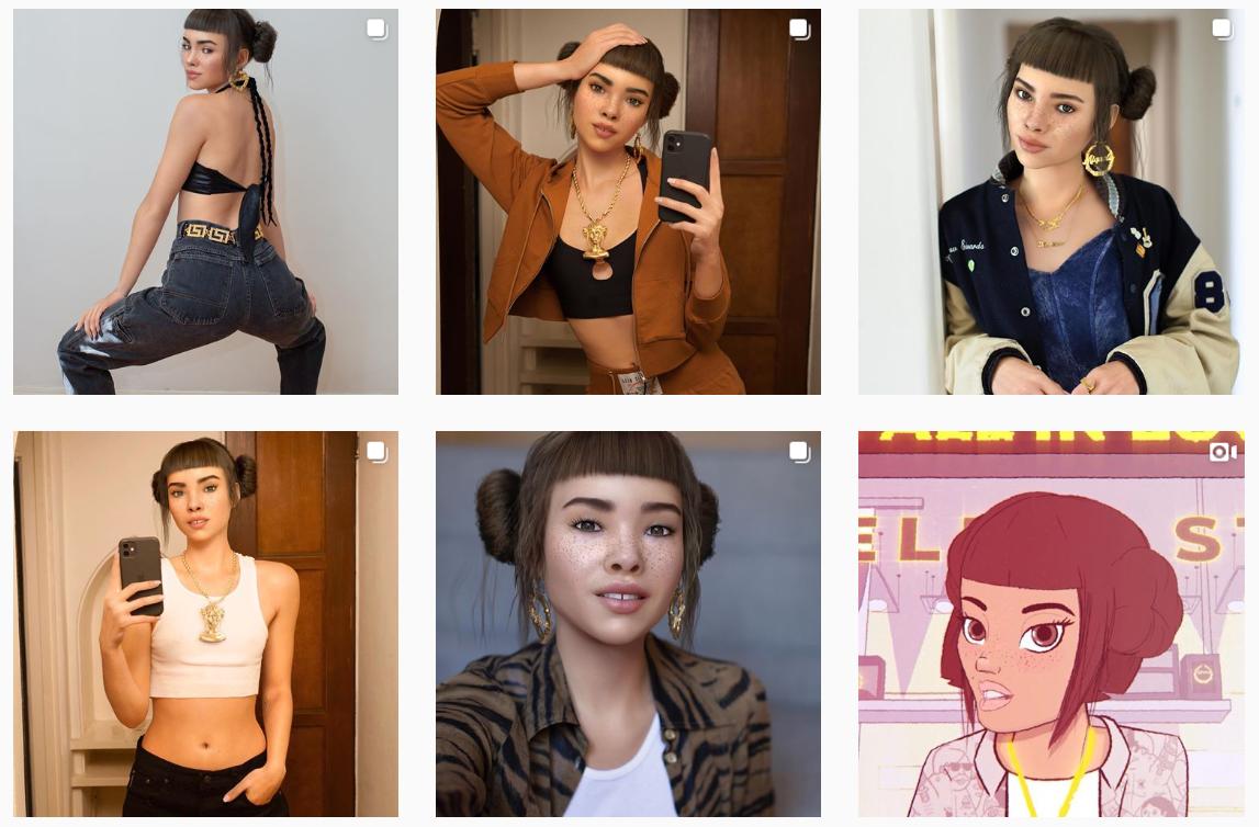 Virtuelle Influencer: 11 Avatare, die du kennen solltest